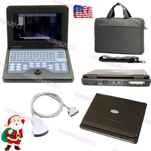 "10.1"" Portable Laptop Machine Digital Ultrasound Scanner Convex Probe,usa Fedex"