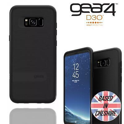Gear4 Samsung Galaxy S8 Plus Battersea D30 Shockproof Tough Slim Back Case Black