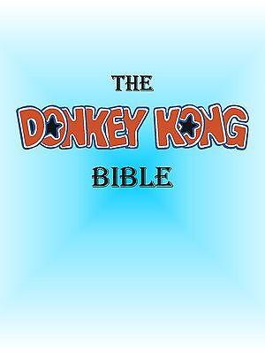 Arcade Donkey Kong tkg Schematics/Manuals/Troubleshooting/Repair & Much More