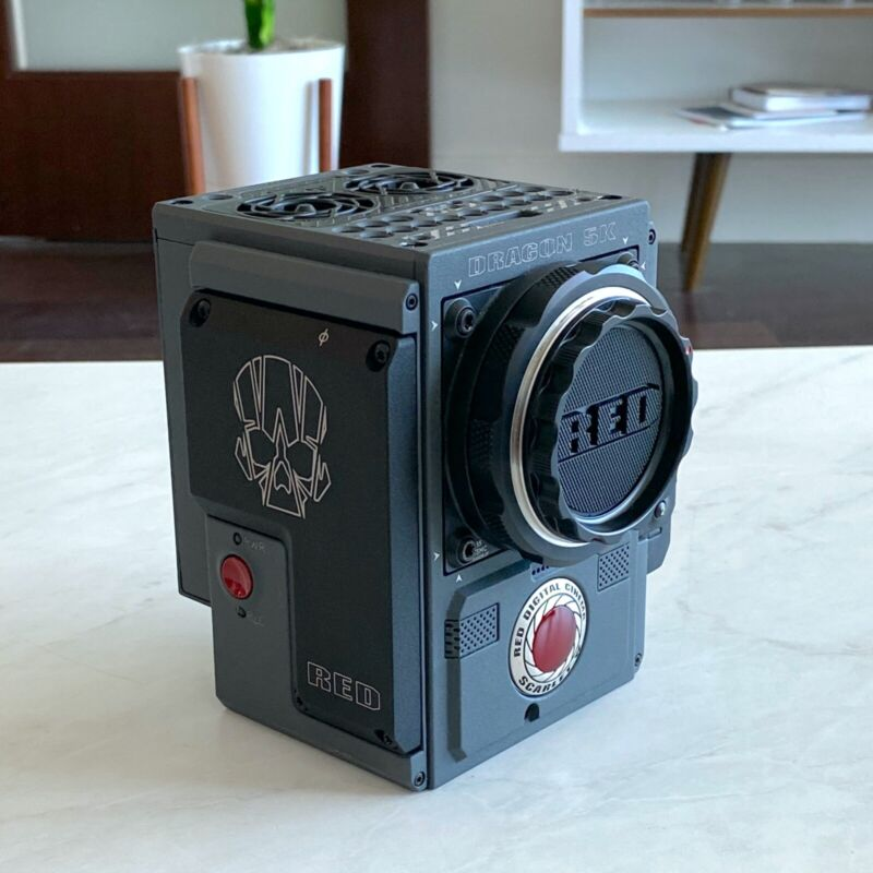 RED Scarlet-W Brain – Well maintained, low hours. Free shipping!