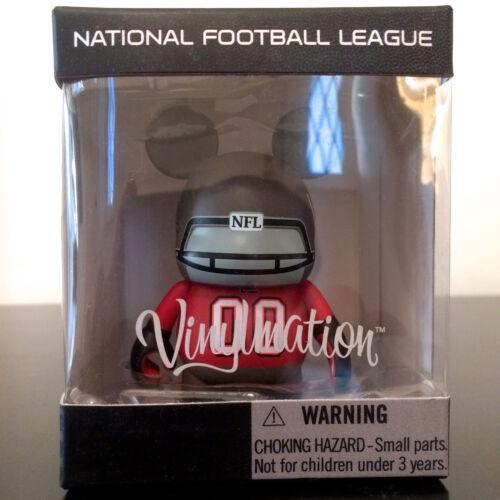 "DISNEY VINYLMATION 3"" NFL FOOTBALL SERIES TAMPA BAY BUCCANEERS BUCS TOM BRADY QB"