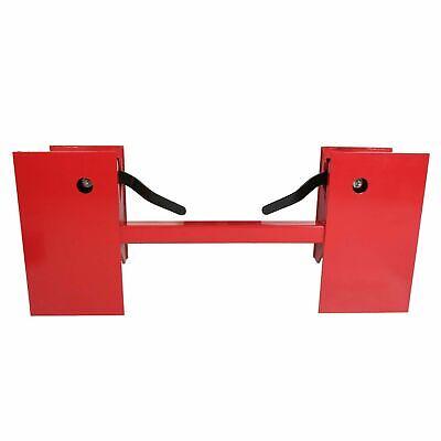 Universal Skid Steer Quick Tach Conversion Adapter Plate Bobtach Blank Qta Red
