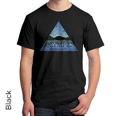 Olympic National Park T-Shirt Washington's Olympic Peninsula Port Angeles 1078m Olympic Peninsula National Park