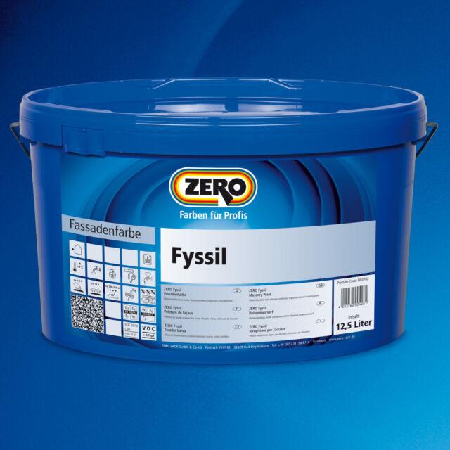 5x ZERO Fyssil weiß 12,5 L-siloxanverstärkt, wasserabweisend-359609010