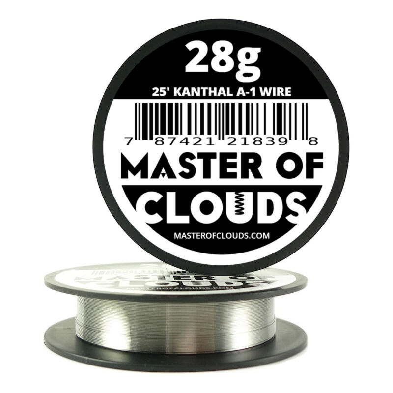 25 ft - 28 Gauge AWG A1 Kanthal Round Wire 0.32mm Resistance A-1 28g GA 25