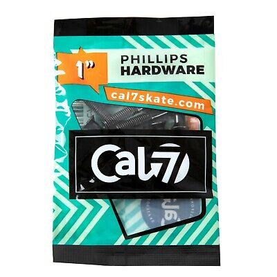 """Cal 7 Skateboard 1"""" Bolts Phillips Hardware"""