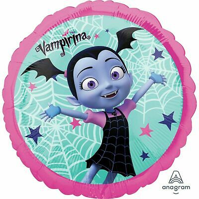 DISNEY VAMPIRINA FOIL BALLOON VAMPIRE GIRL HALLOWEEN BIRTHDAY PARTY DECORATION - Disney Halloween Party Decorations