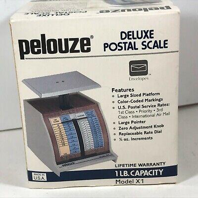 1 Lb Postal Scale Pelouze Model X1