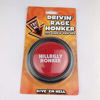 HILLBILLY REDNECK honkerdrivin rade honker push button Spencer's gift gag VTG