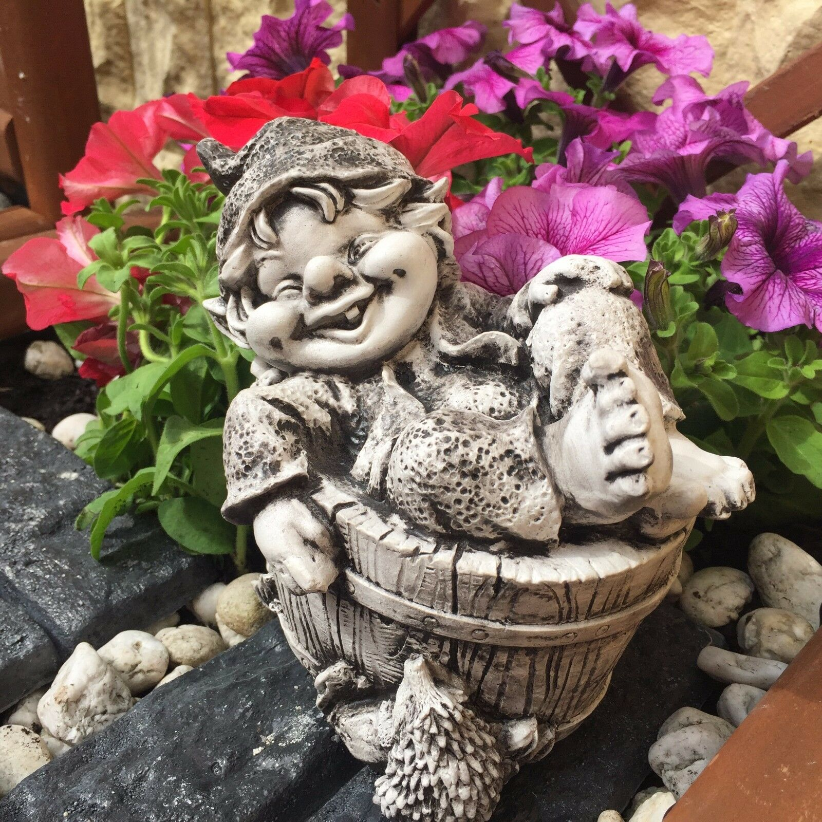 , Gnom, Troll, Kobold , Gartenfigur, Steinfigur ART R 1527
