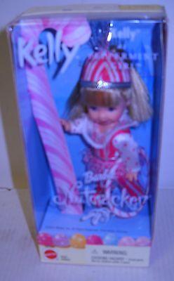 #4788 NRFB Mattel Barbie the Nutcracker Kelly as Peppermint Girl Doll
