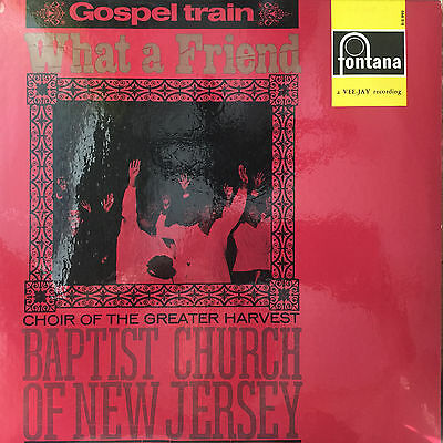 Gospel train - What a friend - Choir -Baptist Church New Jersey RAR - LP Vinyl