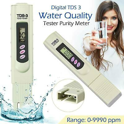 Digital TDS3 PPM Meter Home Drinking Tap Water Quality Purity Test Tester
