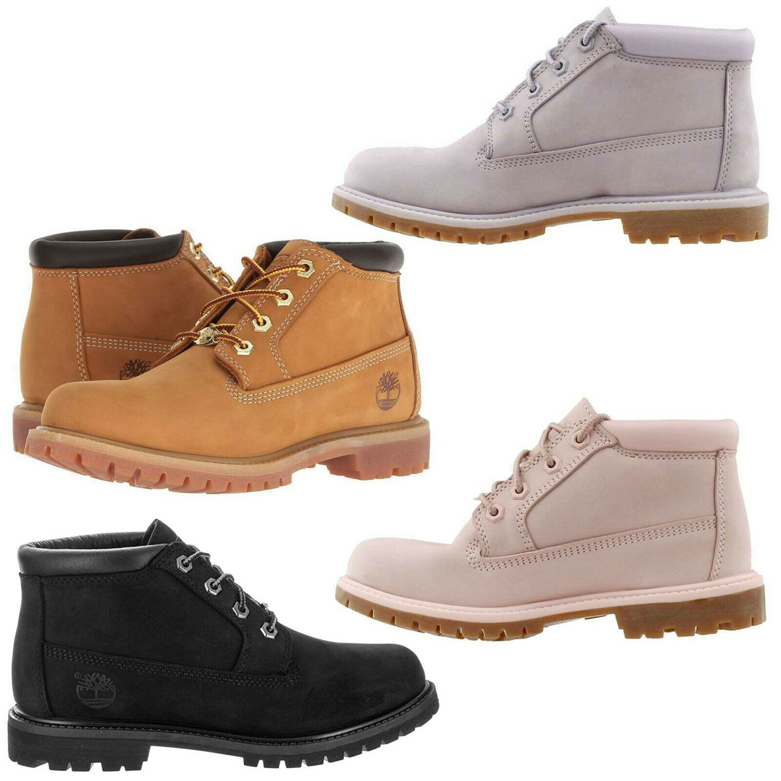 Timberland Women's Nellie Waterproof Rustproof Suede Chukka Boots NEW
