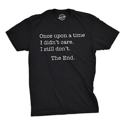 "tshirt ""idon't care"" black for evbody"