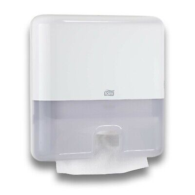 Tork Xpress Commercial Interfold Paper Hand Towel Dispenser Mini 552120 White