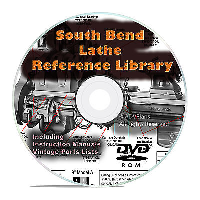 South Bend Lathe Reference Library Parts List Learn How To Run A Lathe Dvd V26
