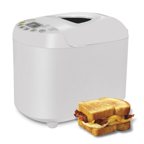3 Loaf Sizes and 3 Crust Color Bread Maker Machine 550W 2.2