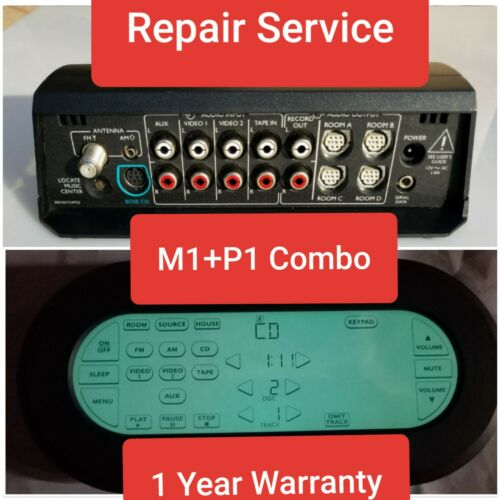 *REPAIR* Bose LifeStyle LS 40 50 NO RESPONSE M1 + P1 Remote Backlight; COMBODEAL