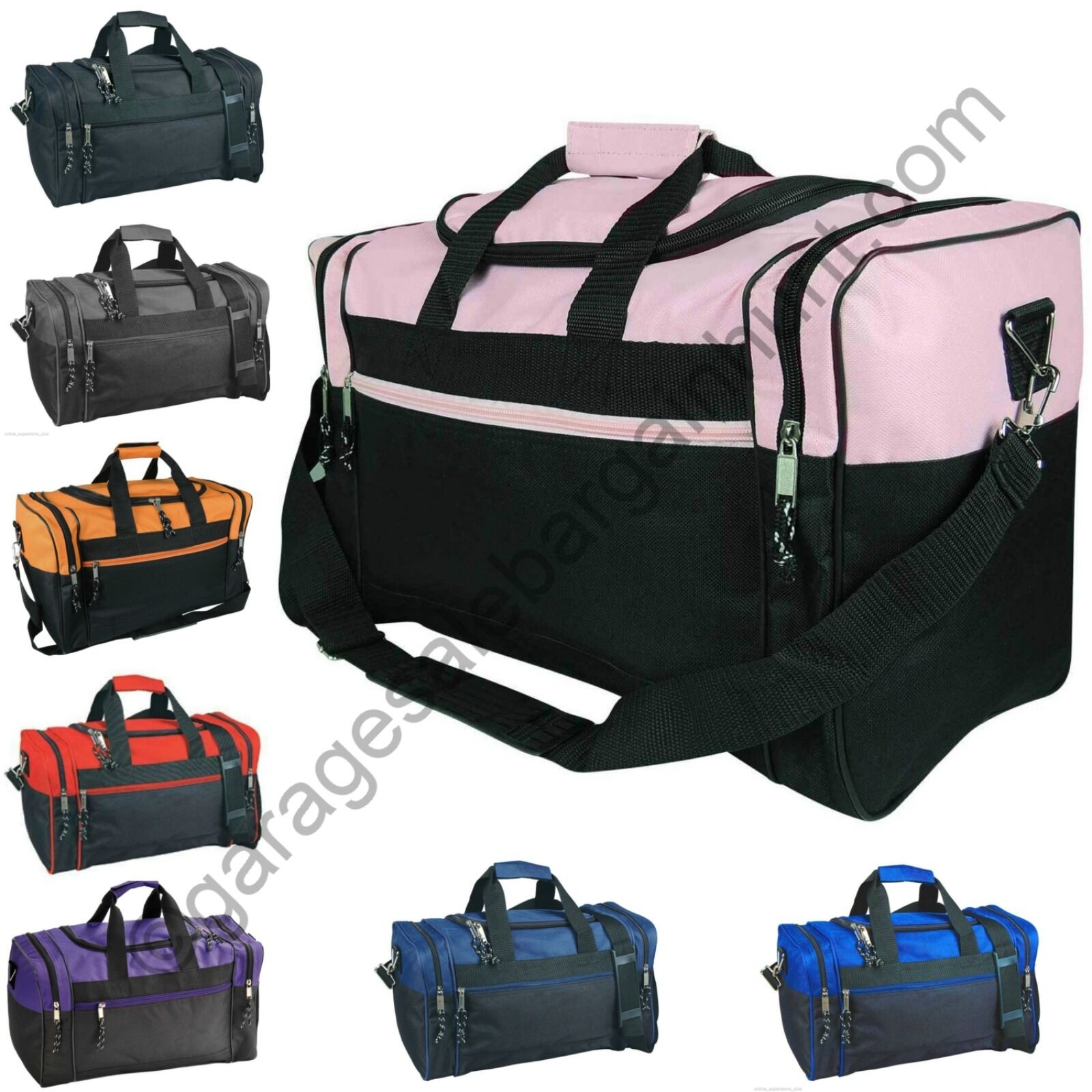 e59feb838c05 Duffle Duffel Bag Bags Carry-on Travel Sports Luggage Shoulder Strap ...