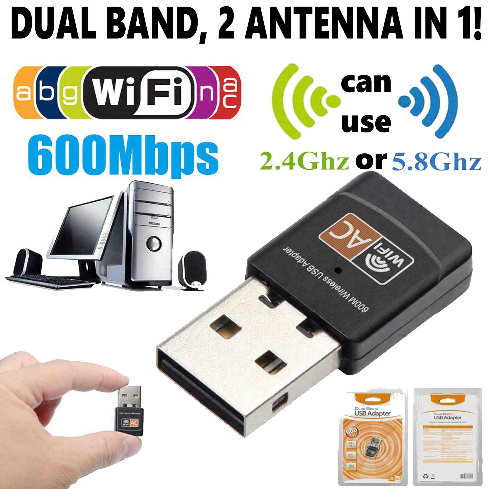 wireless lan usb pc wifi adapter network