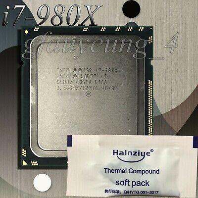 Intel Core i7 Extreme 1st Gen i7-980X Extreme Edition 3.33GHz Six Core Processor segunda mano  Embacar hacia Argentina