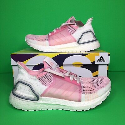 Adidas Ultraboost 19 True Pink Orchid Tint Womens Size 11 Running Shoes EF6517