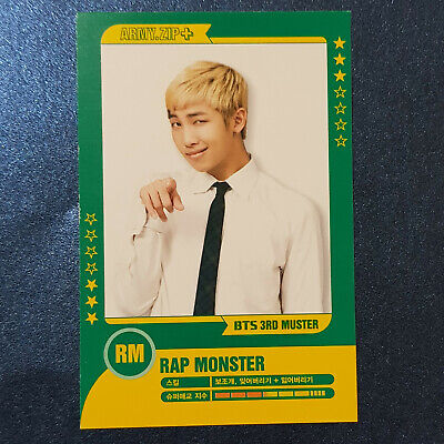 Rm - Official Photocard BTS 3rd Muster Army.Zip Photocard