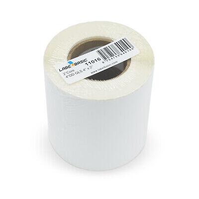 Labels For Primera Lx500 Printer 4 X 2 600 Glossy Labels Per Roll