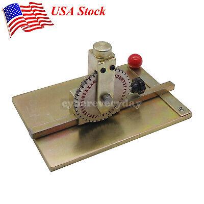 Manual Embossing Machine Metal Plate 58-60hv Stamping Embosser Deboss Dog Tag Us