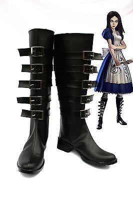 Alice: Madness Returns Cosplay Schuhe Kostüm zapato scarpa chaussure psp costume (Alice Madness Returns Kostüme)