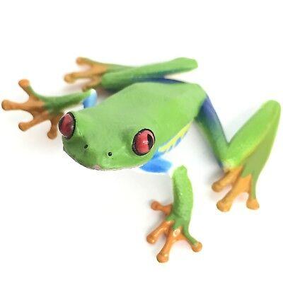 Nature Techni Colour Mini Figure Magnet Red-eyed Tree Frog Ikimon Japan