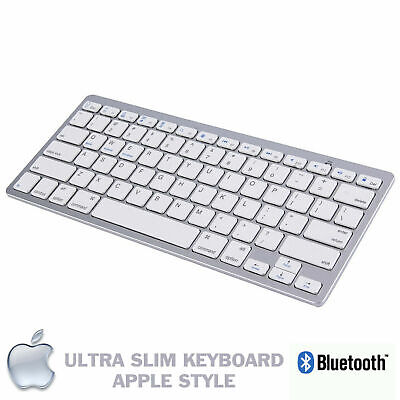 NEW SLIM WIRELESS BLUETOOTH KEYBOARD FOR IMAC IPAD ANDROID PHONE TABLET PC UK