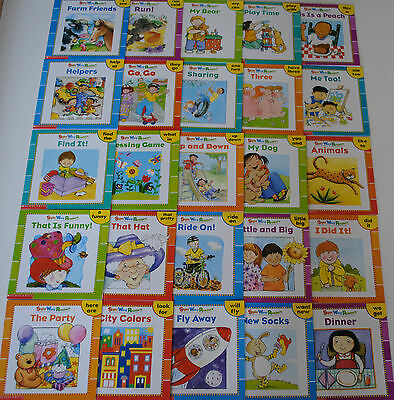 25 SIGHT WORD READERS PreK Kindergarten Homeschool Books Guided Reading Level A