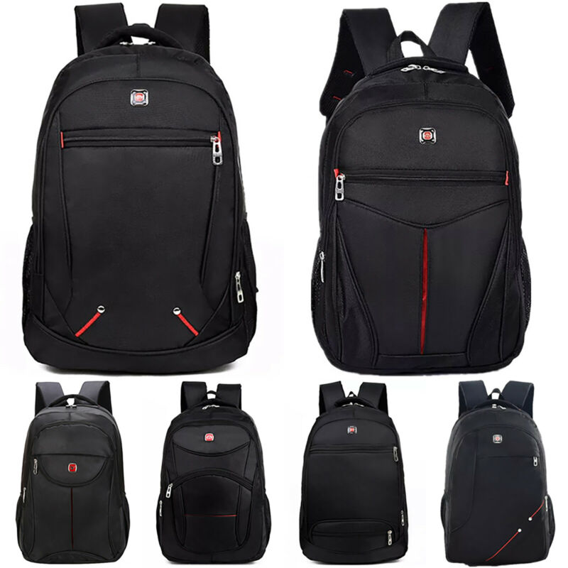Men Waterproof Travel Backpack Laptop Hiking Rucksack Bussin