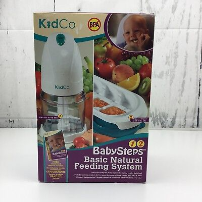 - Kidco Baby Steps Basic Natural Feeding System Electric Food Mill Freezer Trays