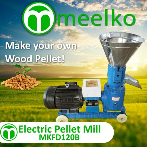 PELLET MILL 4HP 3KW ELECTRIC and hammer mill MKHM158