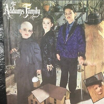 Family Crafts Halloween Costumes (Simplicity Pattern 7991 The Addams Family Childs Halloween Costume Adams)