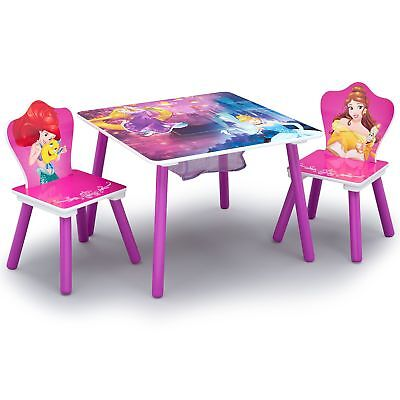 Princess Chair - Delta Children Table and Chair Set With Storage, Disney Princess