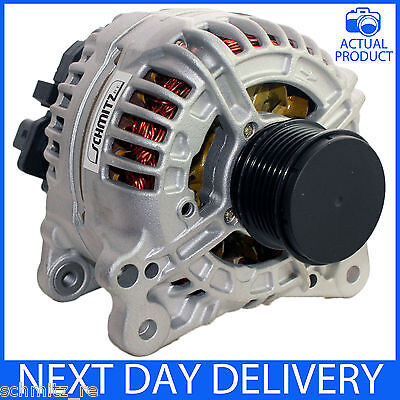 FITS VARIOUS VWAUDIJEEPMITSUBISHISEATSKODA 140AMP GENUINE RM ALTERNATOR