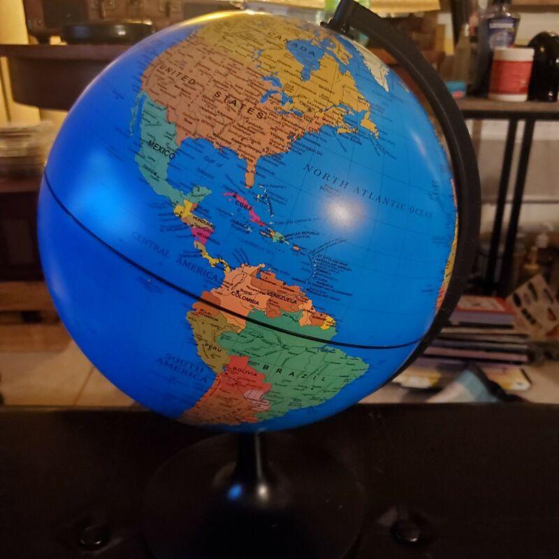 "Edu Toys 11"" Desktop World Globe"
