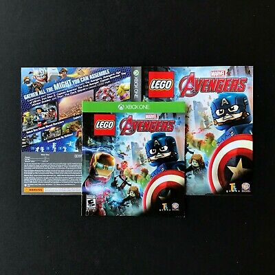 (MANUAL AND ARTWORK ONLY) (NO GAME) XBOX ONE - LEGO Marvel's Avengers
