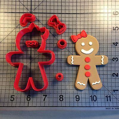Gingerbread Girl 100 Cookie Cutter Set