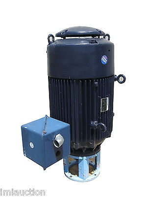 Marathon 100 Hp Vertical Electric Motor 460 Volts Severe Duty Zk449ttfs7153anw