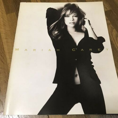 MARIAH CAREY  TOUR CONCERT PROGRAM BOOK F/S Rare from Japan Used Music