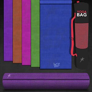 We-R-Sports-Yoga-Exercise-Fitness-Gym-Workout-Mat-Physio-Pilates-Non-Slip-6mm