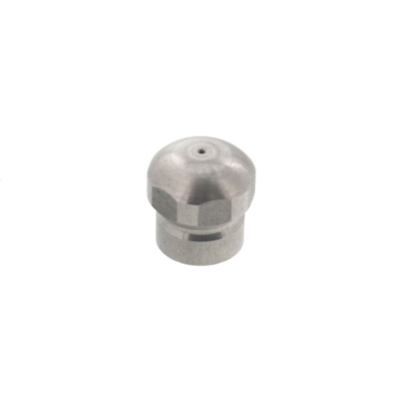 """Erie Tools Button Nose 1/8"""" Sewer Jetter Drain Cleaning Nozzle 4.5 Orifice Size"""