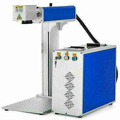 30w Fiber Laser Marking Machine Metal Engraving Engraver High Precision 110220v
