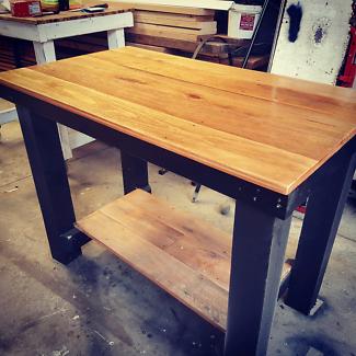 kitchen island bar table bench
