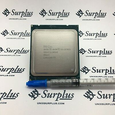 Intel Xeon E5-2670V2 SR1A7 2.50GHz 10 Core CPU 115W 25MB Ivy Bridge LGA2011
